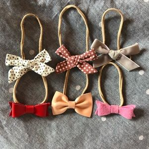 {BABY} [bundle of 6] Little Poppy Co Headband Bows